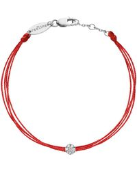 RedLine - Illusion Diamond Brode Bracelet - Lyst