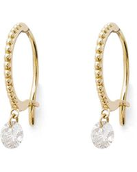Raphaele Canot - Single Set Free Beaded Hoop Earrings - Lyst
