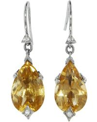 Cathy Waterman - Citrine Briarpatch Earrings - Lyst