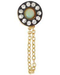 Ileana Makri - Opal Sun Chained Single Stud Earring - Lyst