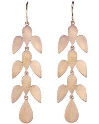 Irene Neuwirth | Long Leaf Motif Earrings | Lyst
