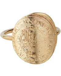 Laura Lee - English Coin Ring - Lyst