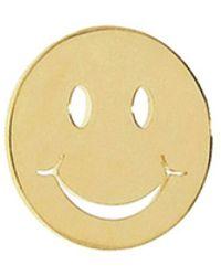Sydney Evan - Single Happy Face Stud Earring - Lyst