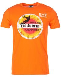 EA7 - T-shirt - Lyst