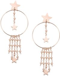 First People First Earrings - Pink