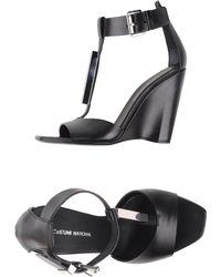 CoSTUME NATIONAL - Sandals - Lyst