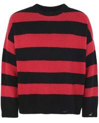 The Kooples - Striped Crewneck Sweater - Lyst