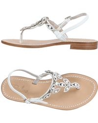 Positano By Jean Paul - Toe Post Sandal - Lyst