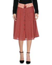 Ultrachic - Knee Length Skirts - Lyst