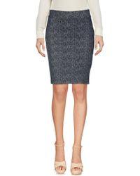 Ichi | Knee Length Skirt | Lyst