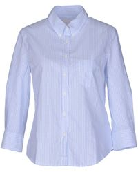 Boy by Band of Outsiders - Shirt With 3/4-length Sleeves - Lyst
