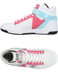 EA7 - High-tops & Sneakers - Lyst