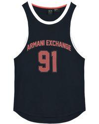 Armani Exchange - Vest - Lyst