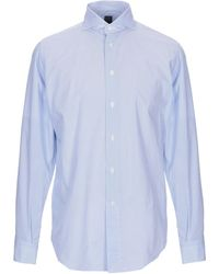 online store 4ed8a 6069a Alex Doriani Shirt in Blue for Men - Lyst