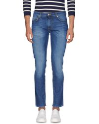 Harmont & Blaine - Denim Trousers - Lyst