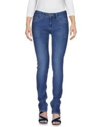 PRAIO - Denim Trousers - Lyst