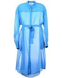 MSGM - 3/4 Length Dress - Lyst