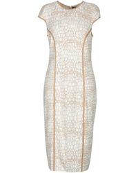 Fontana Couture - 3/4 Length Dress - Lyst