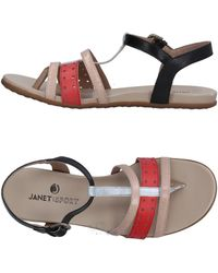 Janet & Janet - Toe Strap Sandal - Lyst