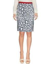 Ice Iceberg - Knee Length Skirts - Lyst
