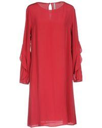 Aglini - Short Dress - Lyst