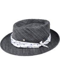 f96bdebf755 Lyst - Maison Michel Black Shariff Felt Hat in Black for Men