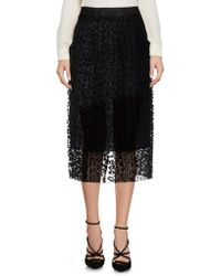 Paola Frani - 3/4 Length Skirt - Lyst