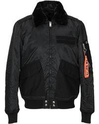 DIESEL Collar Bomber Jacket - Black