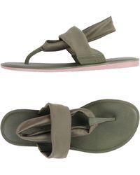Zaxy - Toe Strap Sandals - Lyst