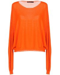 Blue Les Copains Jumper - Orange