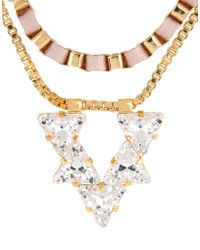 John & Pearl - Necklaces - Lyst