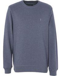 AllSaints - Sweatshirt - Lyst