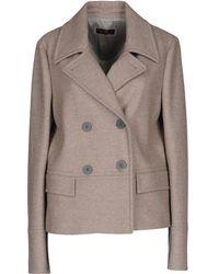 Peserico - Overcoat - Lyst