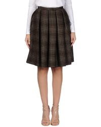 Trou Aux Biches   Knee Length Skirt   Lyst