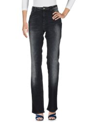 Angelo Marani - Denim Trousers - Lyst