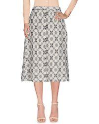 Swildens - 3/4 Length Skirt - Lyst