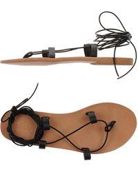 Polder - Toe Post Sandal - Lyst