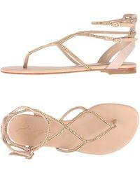 Lola Cruz - Toe Strap Sandals - Lyst