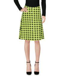 Versus - Knee Length Skirt - Lyst