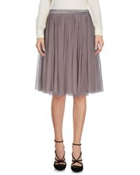 Oh My Love - Knee Length Skirt - Lyst