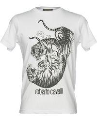 Roberto Cavalli - T-shirts - Lyst