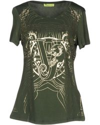 Versace Jeans T-shirt in Blue - Lyst f302a357cd