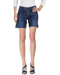 Citizens of Humanity - Denim Shorts - Lyst