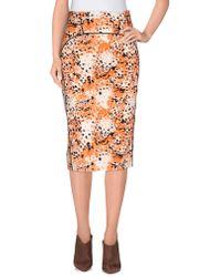 Francesco Scognamiglio - 3/4 Length Skirt - Lyst