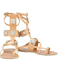 Peter Pilotto - Toe Strap Sandals - Lyst