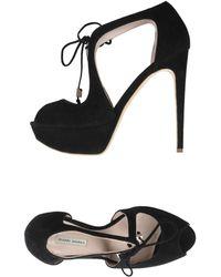 Gianni Marra Sandals - Black