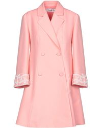 69533680bfd Lyst - Dior Coat in Blue