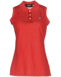 DSquared² - Signature Polo Shirt - Lyst