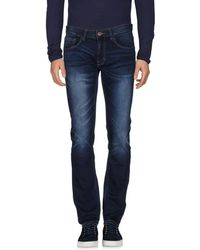 Sun 68 - Denim Trousers - Lyst