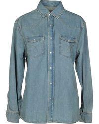 IRO - Denim Shirts - Lyst